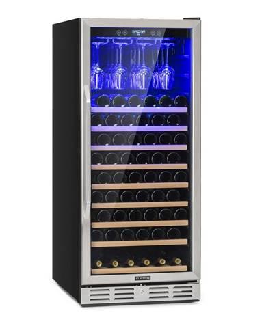 Klarstein Vinovilla 127, veľkoobjemová vinotéka, 331 l, 127 fliaš, sklenené dvere, ušľachtilá oceľ