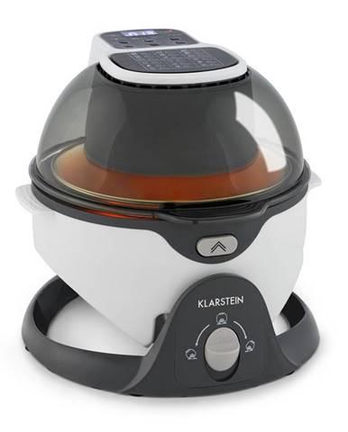 Klarstein VitAir Swing, teplovzdušná fritéza, 1400 W, 50 – 240 °C, časovač, biela