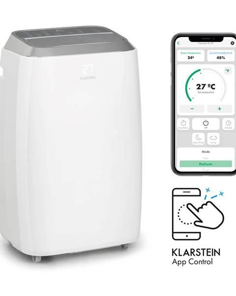 Klarstein Klarstein Iceblock Prosmart 12, klimatizácia, 3 v 1, 12.000 BTU, ovládanie cez aplikáciu, biela