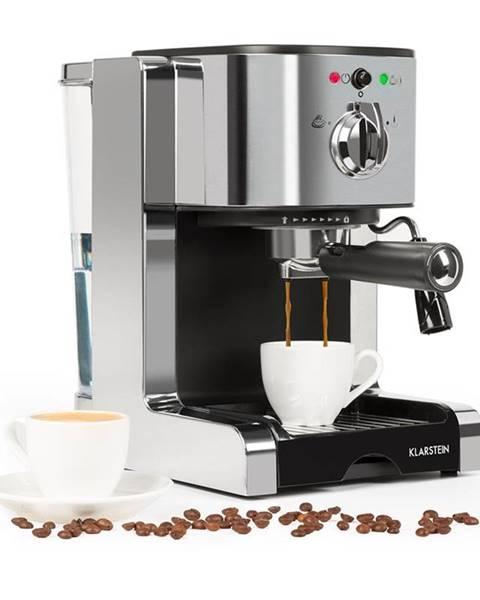 Klarstein Klarstein Passionata 15, espresso kávovar, 15 barov, capuccino, mliečna pena, strieborný