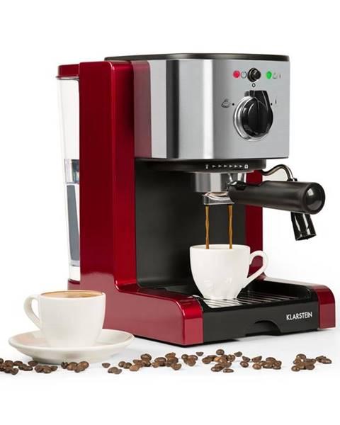 Klarstein Klarstein Passionata Rossa 20, espresso kávovar, 20 barov, capuccino, mliečna pena, červený