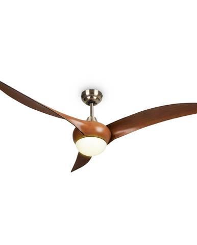 """Klarstein Monteverde, stropný ventilátor, stropné svetlo, 52"""", 8376 m³/h, 3 lopatky"""