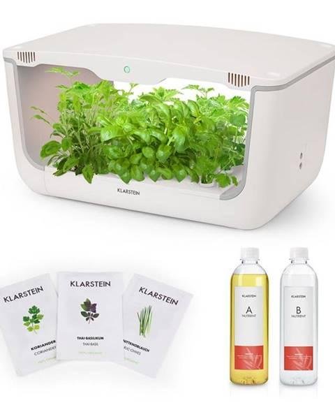 Klarstein Klarstein GrowIt Farm Starter Kit Asia, 28 rastlín, 48 W, 8 l, semená Asia Seeds, živný roztok