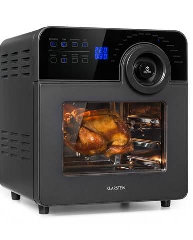 Klarstein AeroVital Cube Chef, teplovzdušná fritéza, 1700W, 14l, 16 programov, čierna