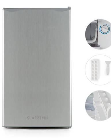 Klarstein Alleinversorger, ušľachtilá oceľ, chladnička, 90 l, trieda A+, 2 poschodia mraziaceho priečinku