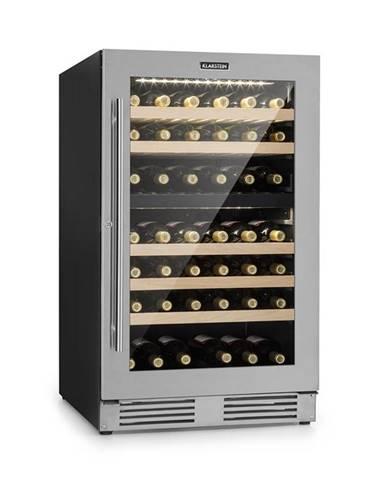 Klarstein Vinovilla Duo79, dvojzónová vinotéka, 189 l, 79 fliaš, 3-vrstvové sklenené dvere