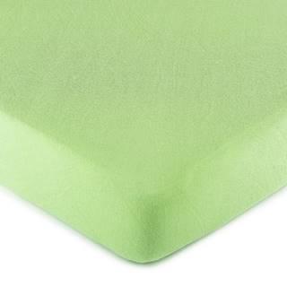 4Home jersey prestieradlo zelená, 90 x 200 cm