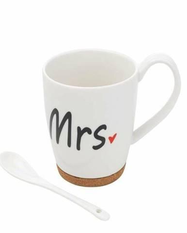 Florina Porcelánový hrnček Mrs., 320 ml