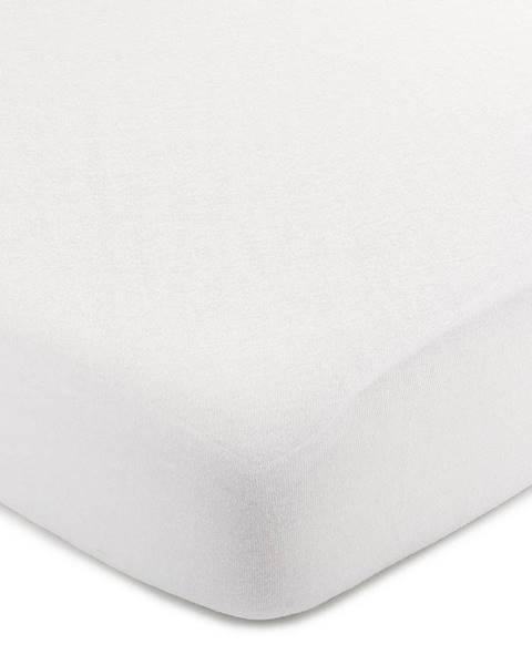4Home 4Home jersey prestieradlo biela, 100 x 200 cm