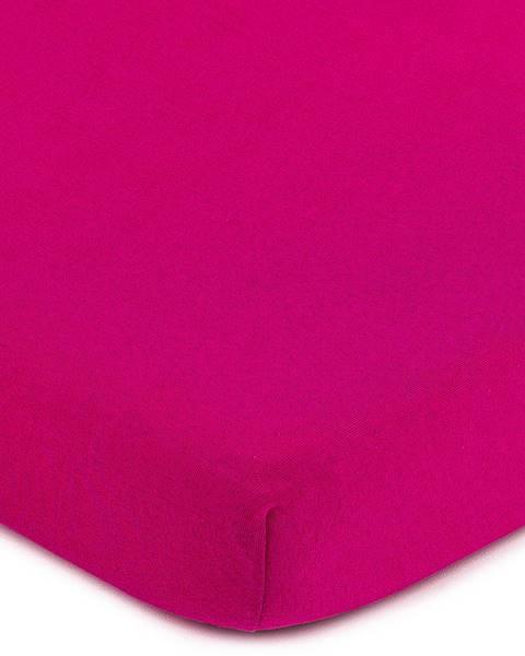 4Home 4Home jersey prestieradlo ružová, 160 x 200 cm