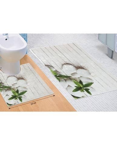 Bellatex Sada kúpeľňových predložiek Jadran 3D, 60 x 100 cm, 50 x 60 cm