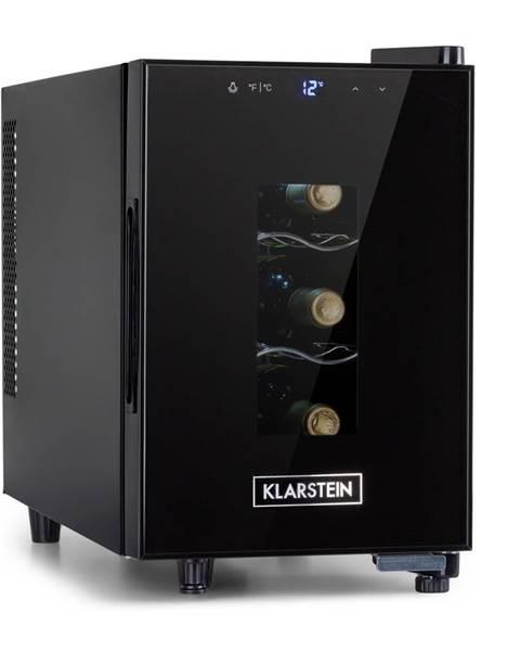 Klarstein Klarstein Bellevin 6 Uno, vinotéka, 17 litrov, 11 – 18 °C, jedna zóna