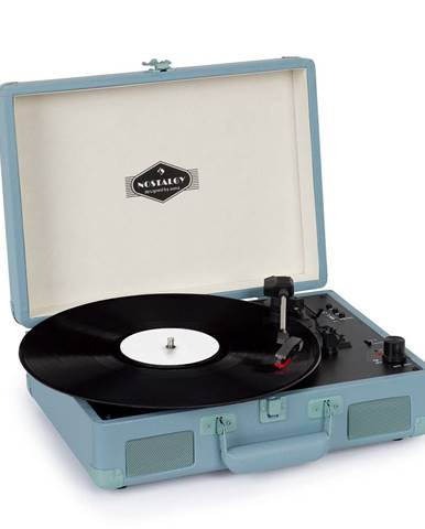 Auna Peggy Sue BT, gramofón, stereo reproduktor, USB, BT, prenosný