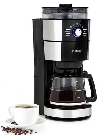 Klarstein Grind & Brew, kávovar, 900 – 1000 W, 10 šálok, 1-litrová nádrž, mlynček
