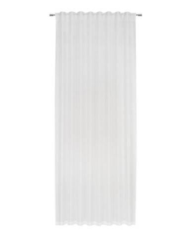 Hotový Záves Elisa, 135/255cm, Biela