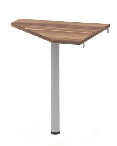 Rohový stolík slivka/kov JOHAN 2 NEW 06