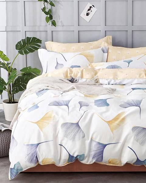 MERKURY MARKET Bavlnená saténová posteľná bielizeň ALBS-01037B 160X200