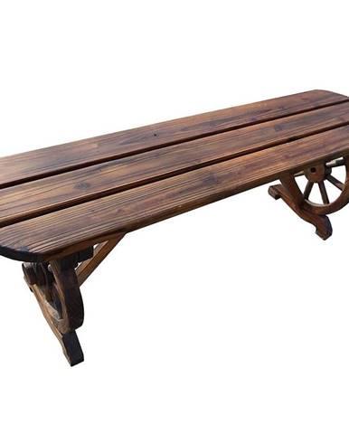 Drevená lavička 110x28x41