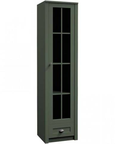 Vitrína Prowansja W1S green