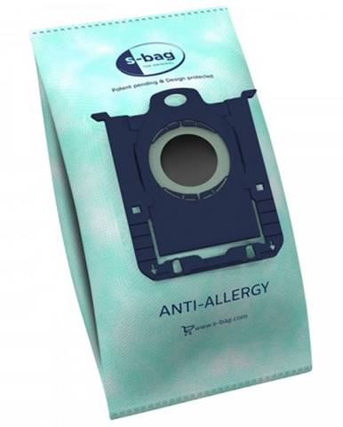 Vrecká do vysávača Electrolux E206B S-bag, antialergénne, 4 ks