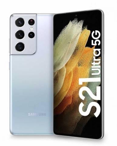 Mobilný telefón Samsung Galaxy S21 Ultra 12GB/256GB, strieborná