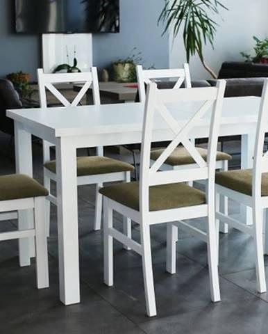 Jedálenský set Kasper-6x stolička, stôl rozkladací
