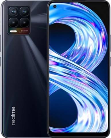 Mobilný telefón Realme 8 6 GB/128 GB, lesklý čierny