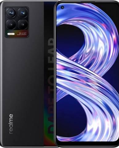 Mobilný telefón Realme 8 6 GB/128 GB, matný čierny