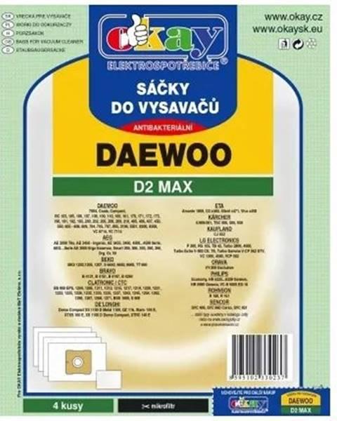Jolly Vrecká do vysávača Daewoo D2MAX, 4ks