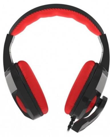 Herné slúchadlá Genesis Argon 100, čierno-červené