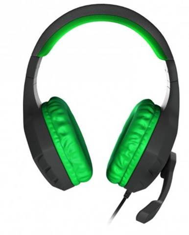 Herné slúchadlá Genesis Argon 200, čierno-zelené