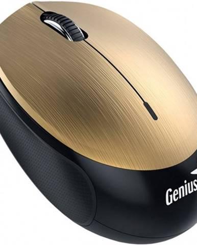 Bezdrôtová myš Genius NX-9000BTU, dobíjacia, zlatá POUŽITÉ, NEOPO