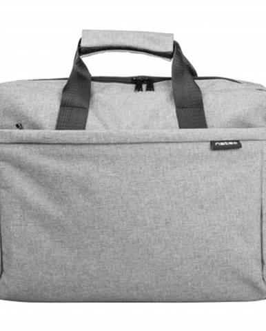 """Taška na notebook Natec Mustela 15,6"""", šedá"""
