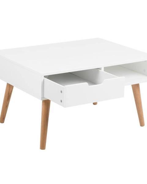Actona Biely konferenčný stolík Actona Mitra, 80×45,5 cm
