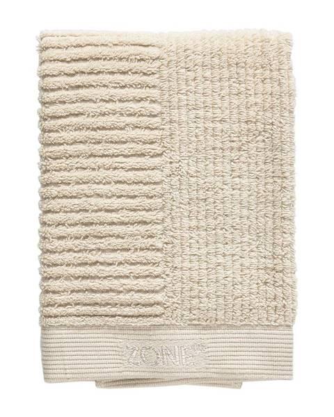 Zone Béžový bavlnený uterák Zone Classic, 70 x 50 cm