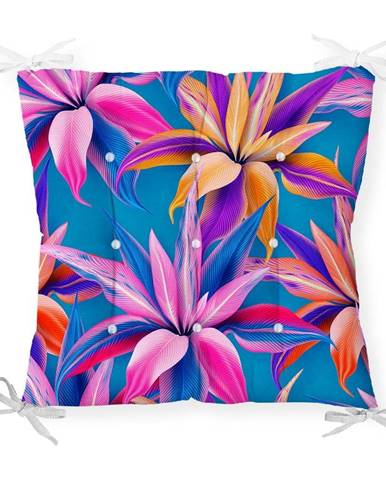 Sedák s prímesou bavlny Minimalist Cushion Covers Bright Flowers, 40 x 40 cm