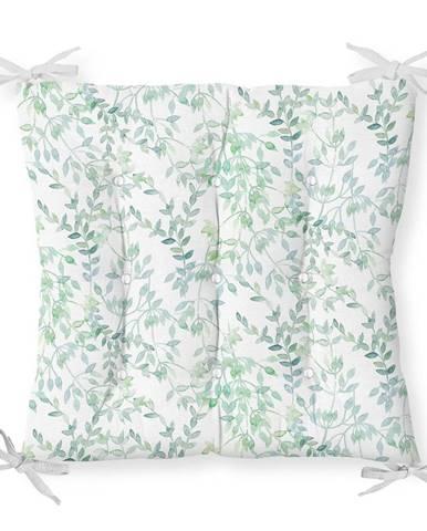 Sedák s prímesou bavlny Minimalist Cushion Covers Delicate Greens, 40 x 40 cm