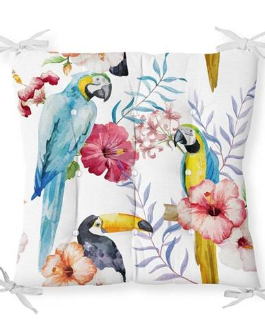 Sedák s prímesou bavlny Minimalist Cushion Covers Jungle Birds, 40 x 40 cm