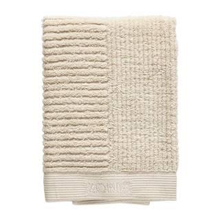 Béžový bavlnený uterák Zone Classic, 70 x 50 cm