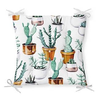 Sedák s prímesou bavlny Minimalist Cushion Covers Cactus in Pot, 40 x 40 cm