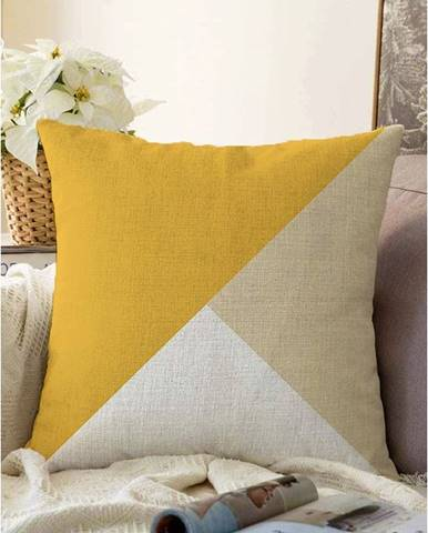 Obliečka na vankúš s prímesou bavlny Minimalist Cushion Covers Bohochic, 55 x 55 cm