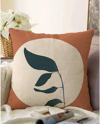 Obliečka na vankúš s prímesou bavlny Minimalist Cushion Covers Twig, 55 x 55 cm