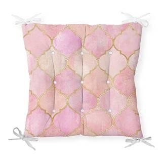 Sedák s prímesou bavlny Minimalist Cushion Covers Pinky Oriental, 40 x 40 cm