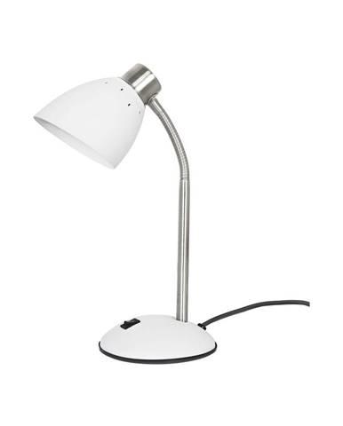 Biela stolová lampa Leitmotiv Dorm