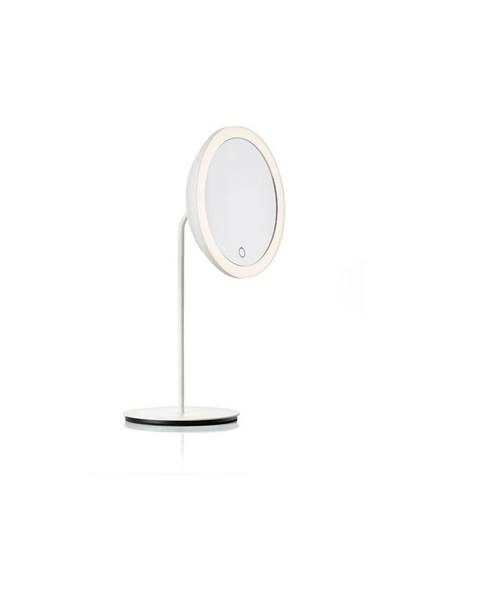 Zone Biele kozmetické zrkadlo Zone Eve, ø 18 cm