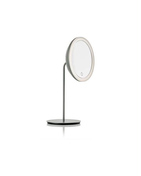 Zone Sivé kozmetické zrkadlo Zone Eve, ø 18 cm