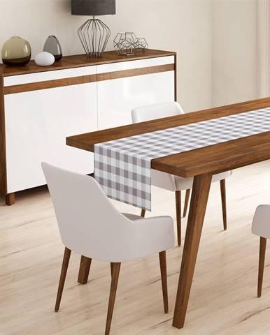 Behúň na stôl Minimalist Cushion Covers Gray Flannel, 45 x 140 cm