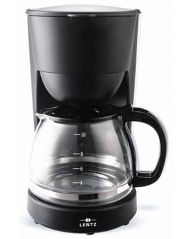 Prekvapkávací kávovar Lentz 1,25 l, čierny%
