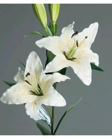 Umelá kvetina Lilie 84 cm, krémová%