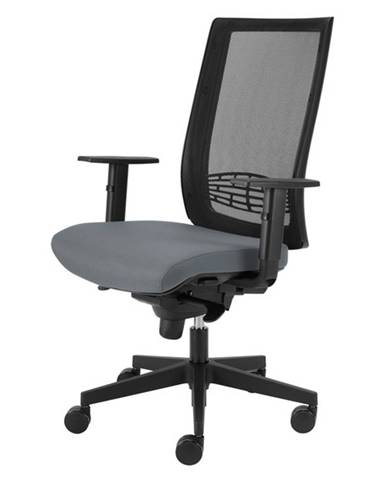 Kancelárska stolička CAMERON sivá